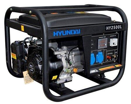 Máy phát điện chạy xăng Hyundai HY10500LE-1