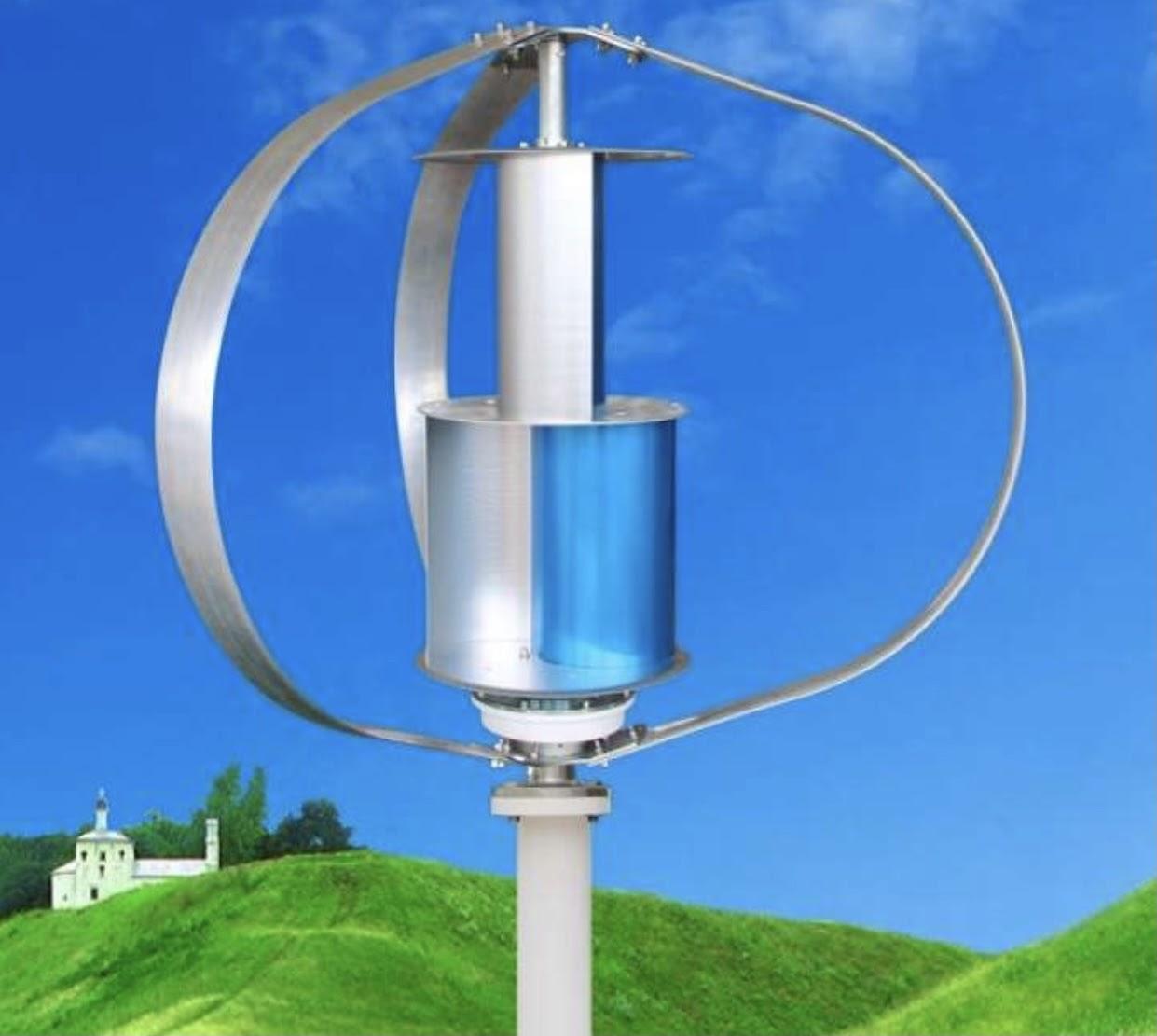 Máy phát điện gió OEM solarcity 600W