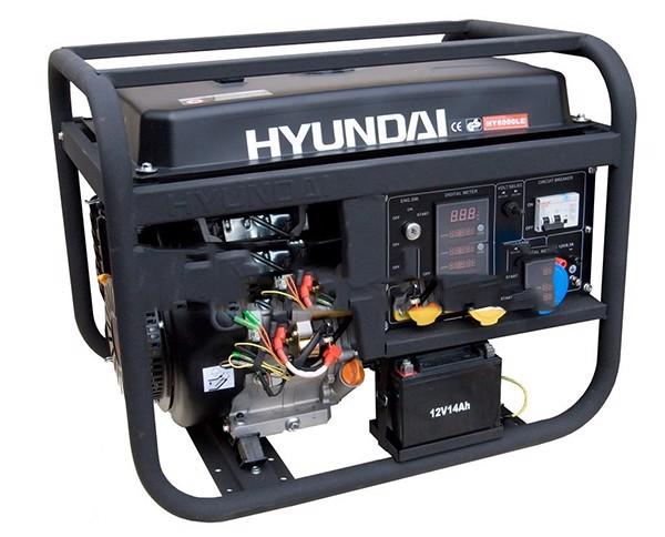 Máy phát điện Hyundai DHY 4000 LE
