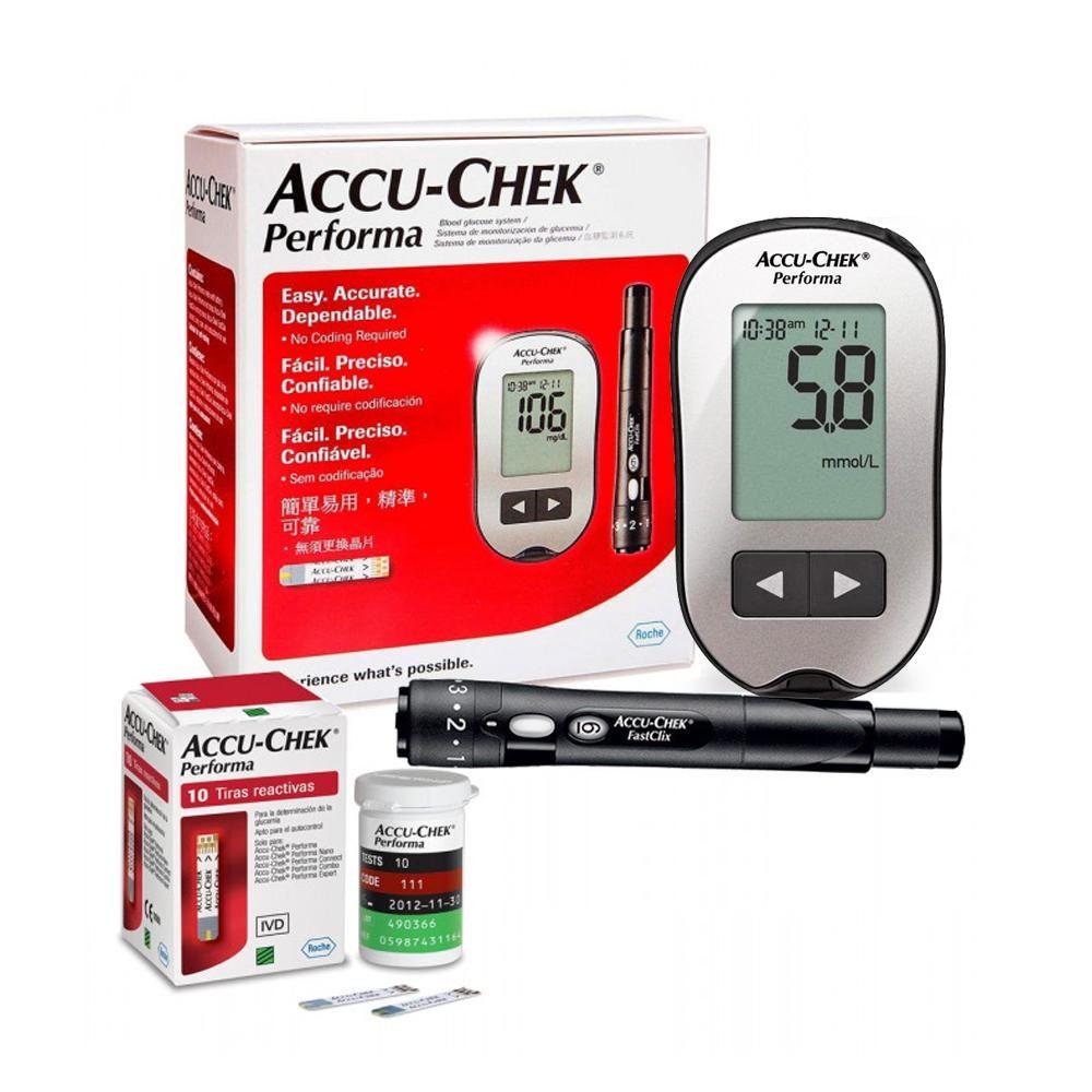 Máy thử tiểu đường Accu-check Perfoma