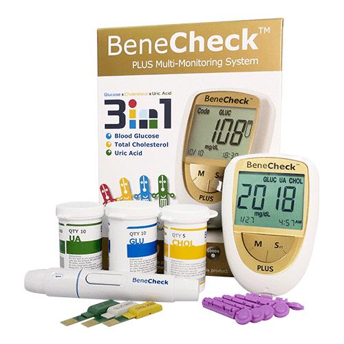 Máy thử tiểu đường Benecheck Plus