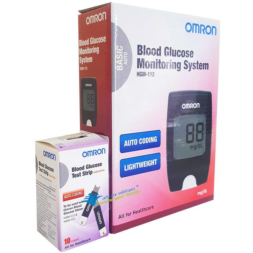 Máy thử tiểu đường Omron HGM-112