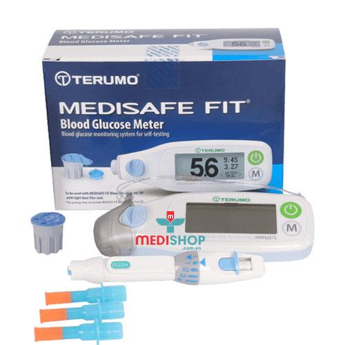 Máy thử tiểu đường Terumo Medisafe Fit