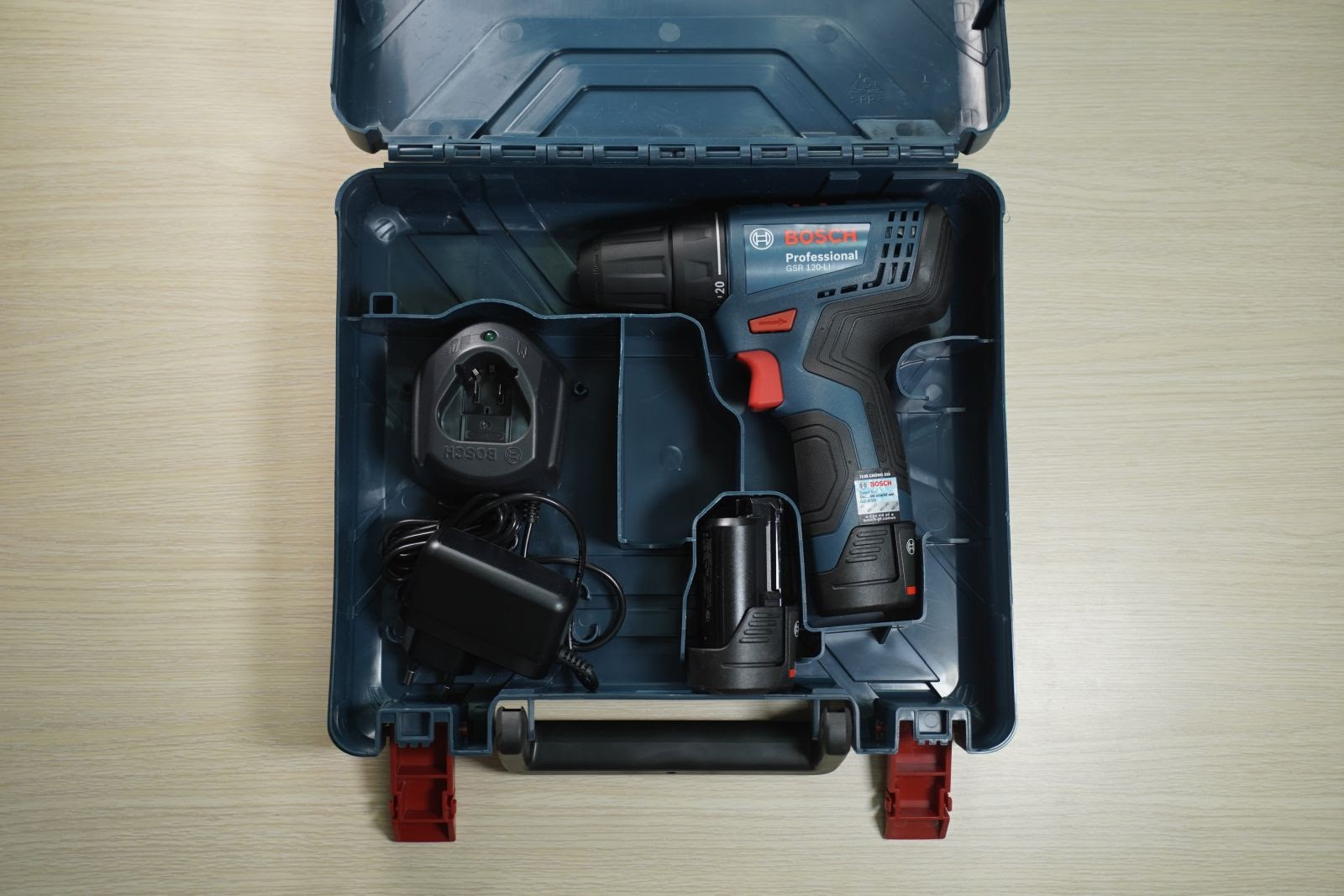 Máy vặn vít Bosch GSR 120-LI