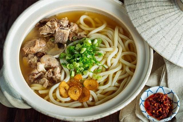 Mì udon - món ăn nổi tiếng của Nhật Bản
