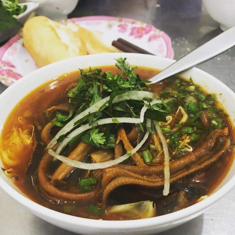 Miến lươn chợ Nam Đồng w