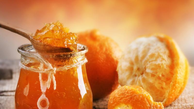 Mứt cam – món ăn lạ miệng nhưng độc đáo.