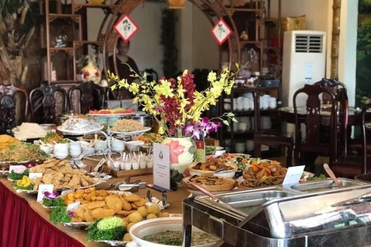 Review top 5 nhà hàng chay Hà Nội đông khách cho tín đồ ăn chay
