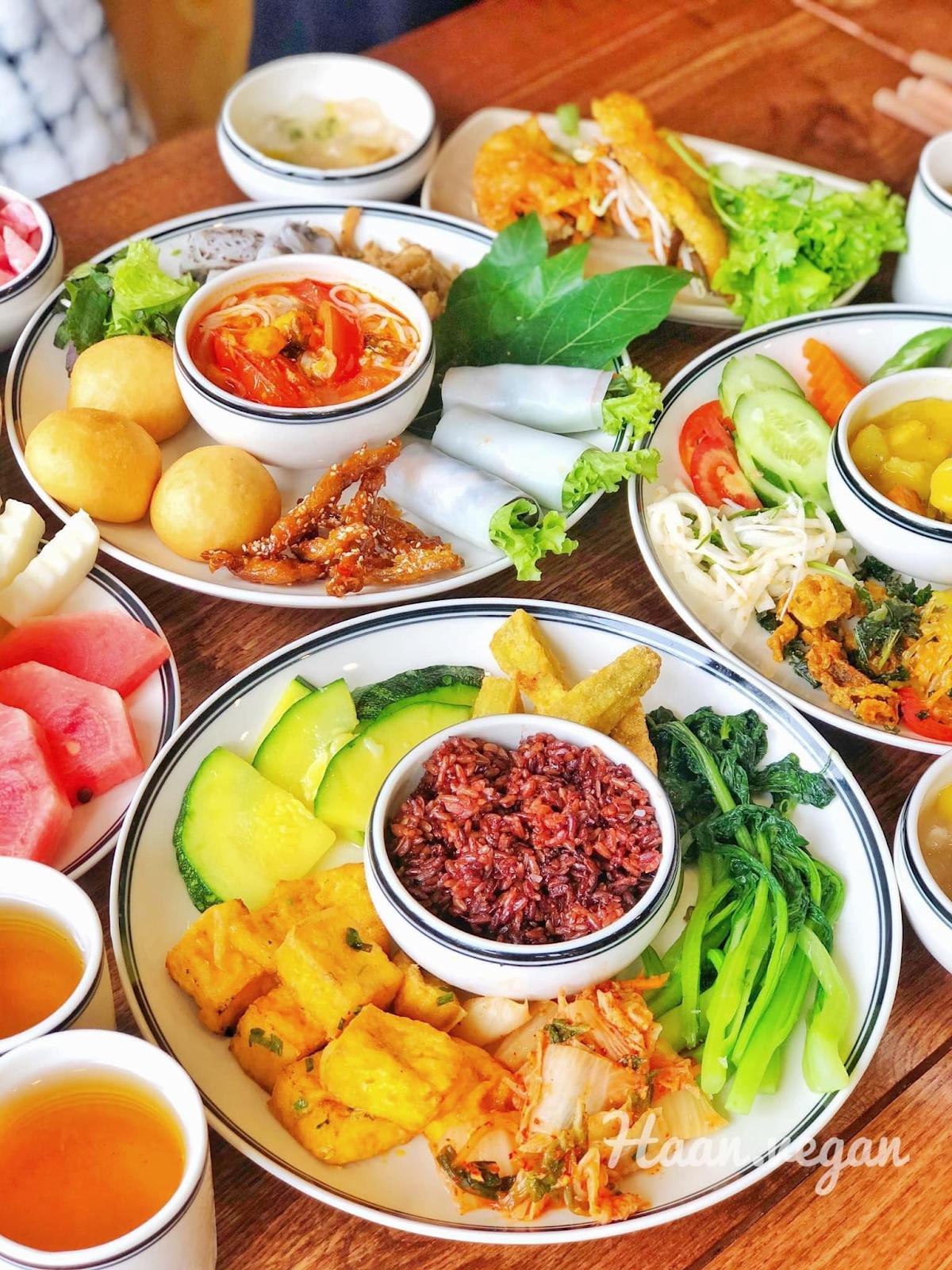 Nhà hàng buffet chay Haan Vegetarian