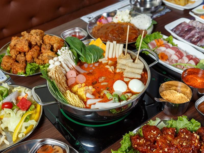 Nhà hàng MANYO Tteokbokki Buffet