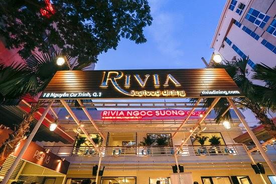Nhà hàng Quận 1 Ẩm thực Hải sản RIVIA