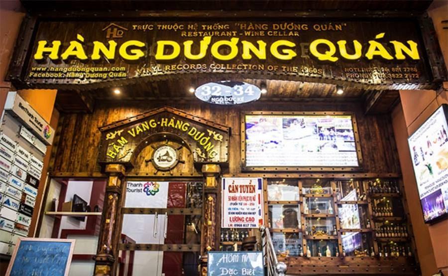 Nhà hàng Quận 1 Hàng Dương Quán