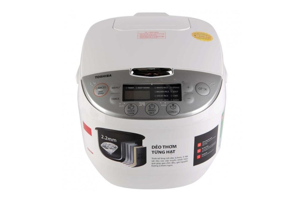 Nồi cơm điện tử Toshiba 1 lít RC-10DH2PV
