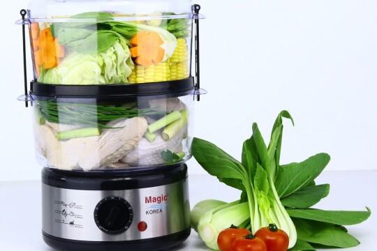 Review Top 5 nồi hấp đa năng bền bỉ, giúp việc nấu nướng trở nên đơn giản