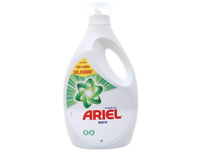 Nước giặt Ariel matic