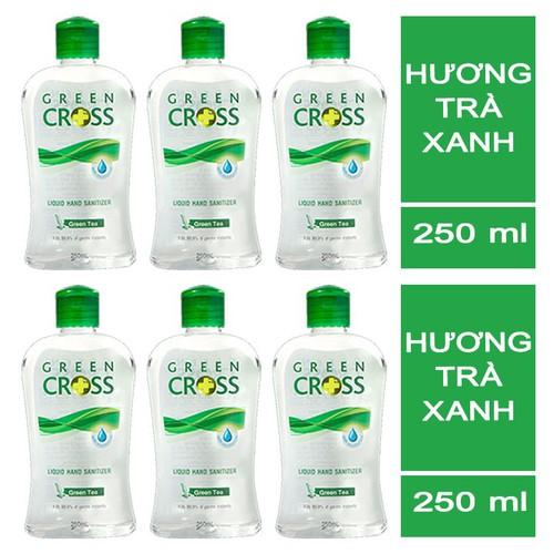 Nước rửa tay Green Cross trà xanh 250ml