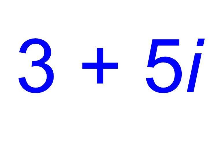 Phép cộng của số phức