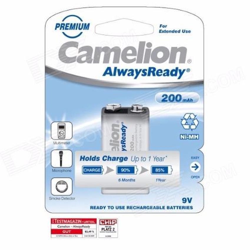 Pin 9v Camelion Alwaysready