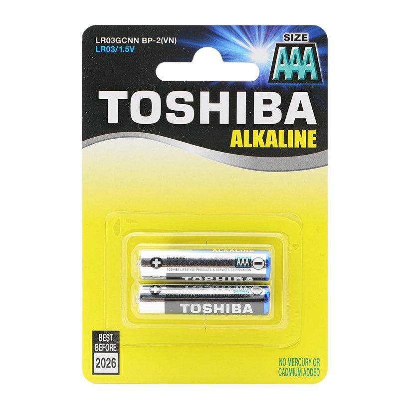 Pin kiềm AAA (3A Toshiba)