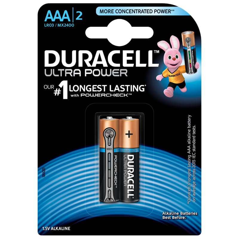 Pin kiềm Duracell Ultra Power