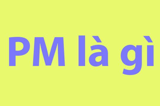 PM là gì? PM được sử dụng như thế nào trong cuộc sống?