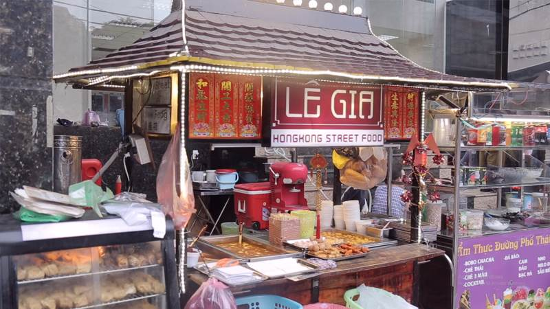 Quán ăn vặt HongKong streetfood Lê Gia