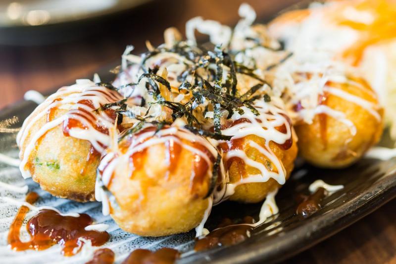 Quán ăn vặt Takoyaki