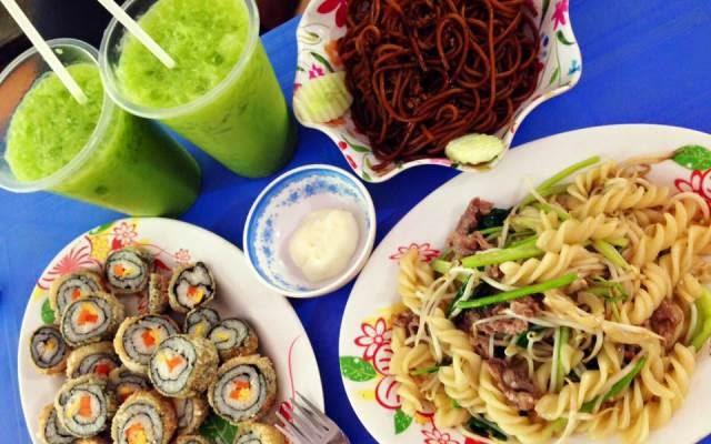 Quán ăn vặt Thái Hạnh - Huy Mai