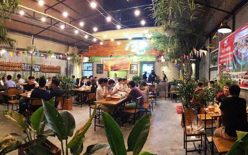 Quán nhậu Hải Phòng Vườn bia 25
