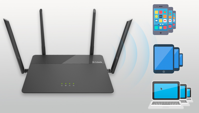 Router wifi gia đình