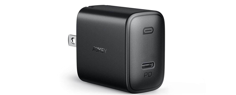 Sạc nhanh Aukey USB-C PD 18W PA-F1