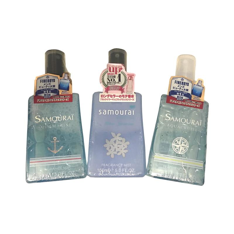 Samurai Fragrance body mist