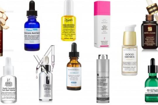 Review 5 serum cho da dầu được chuyên gia khuyên dùng