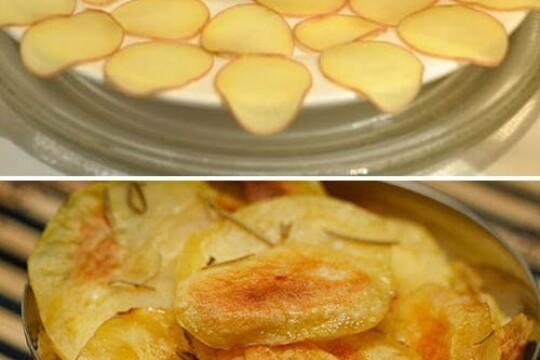 Ấn tượng với cách làm snack khoai tây ngon ngất ngây không phải ai cũng biết