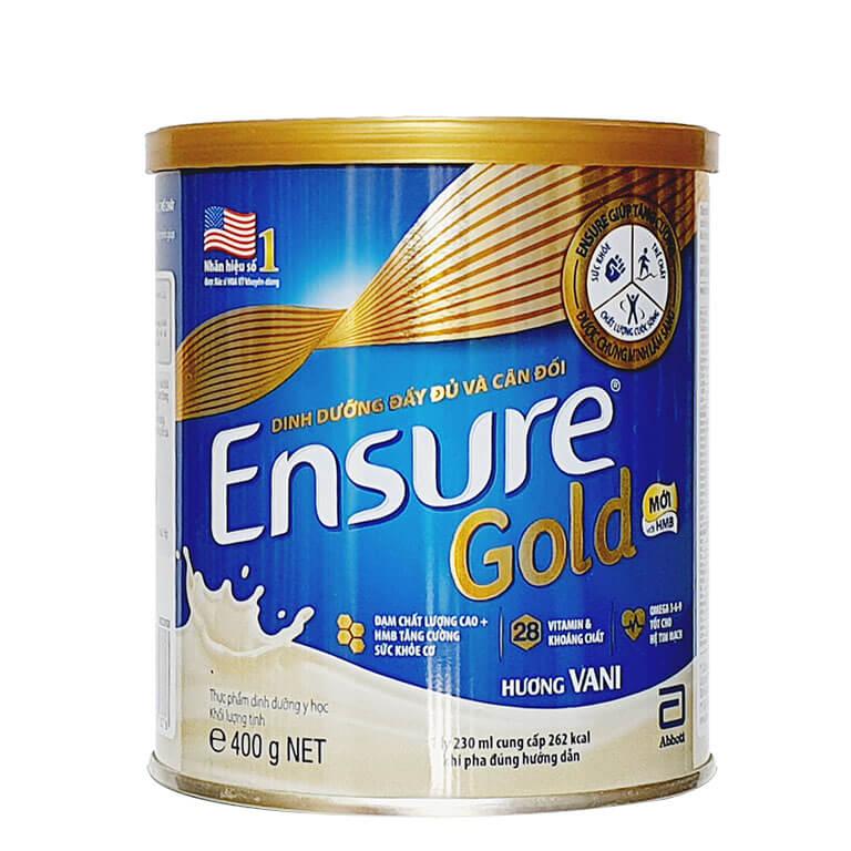 Sữa Ensure Gold 850gr ,400gr