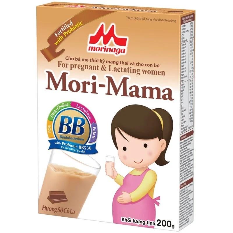 Sữa Nhật cho bà bầu Mori Mama 200g