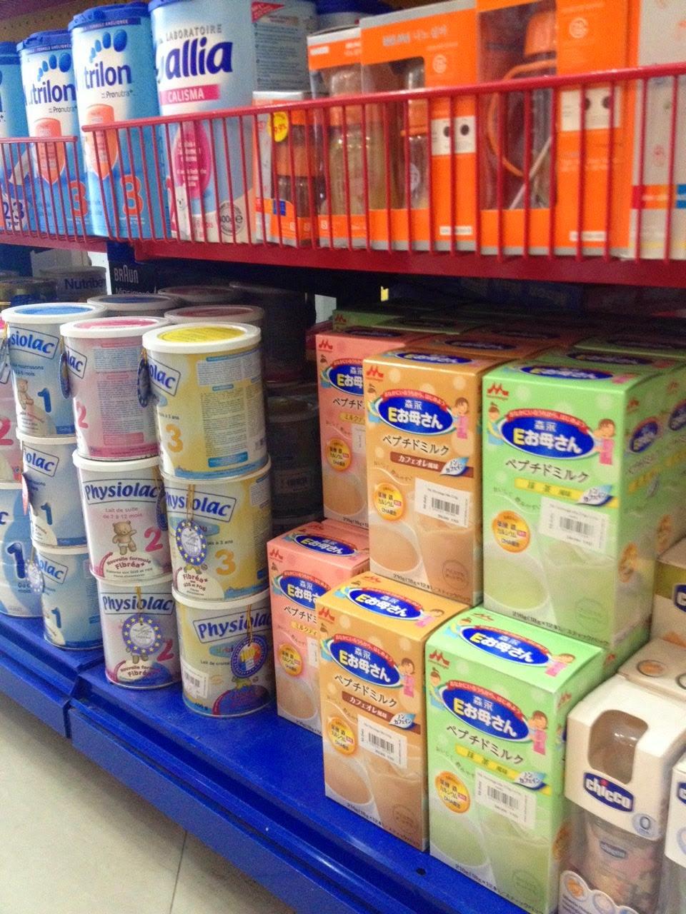 Sữa Nhật cho bà bầu