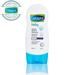 Sữa tắm gội cho bé Cetaphil Baby Gentle Wash