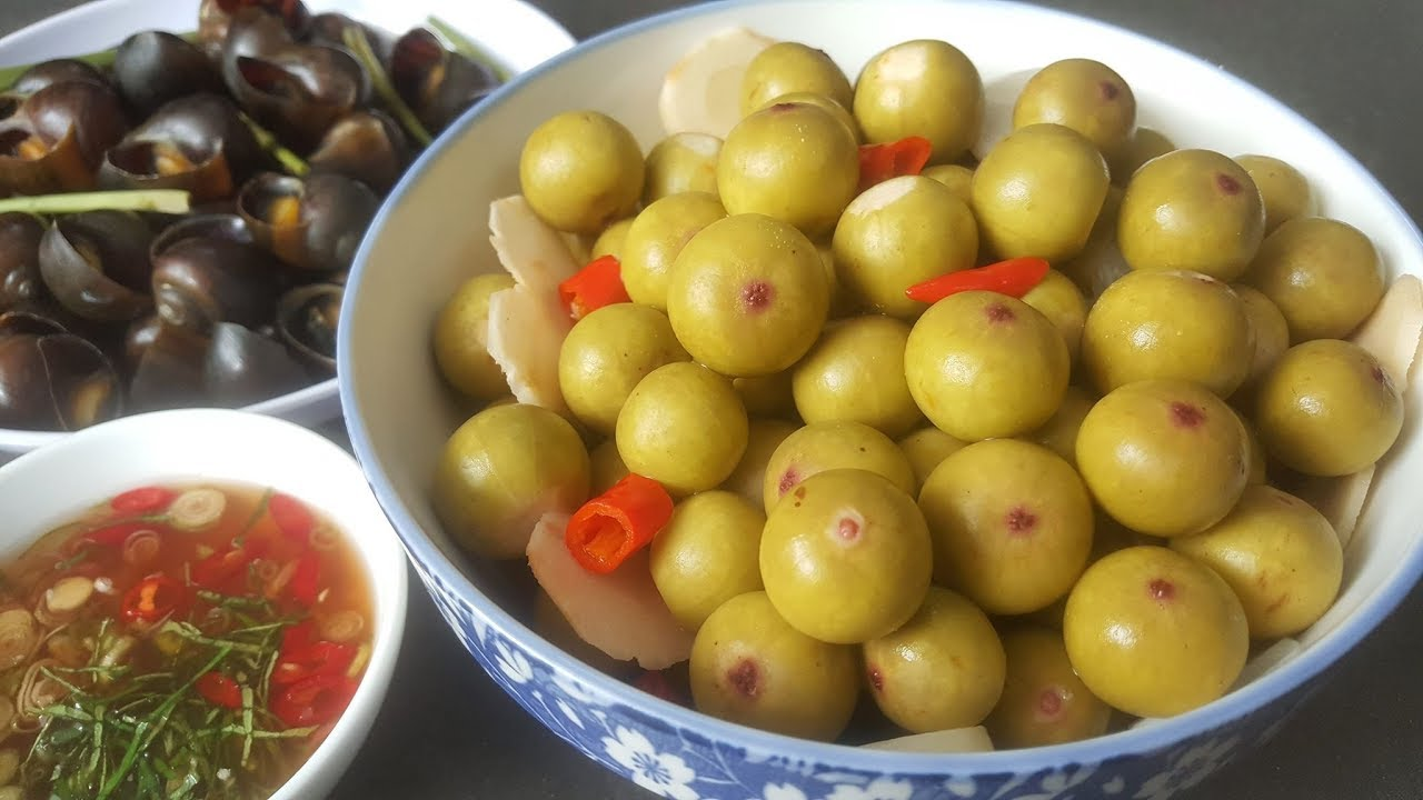 Sung muối – món ăn giản dị và vô cùng được ưa chuộng.