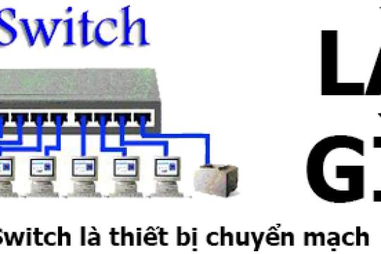 Switch là gì? Công dụng chính của thiết bị như thế nào?