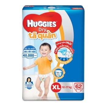 Tã quần em bé Huggies Dry