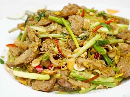 Thịt thỏ xào lăn - món ăn thơm ngon, bổ dưỡng, được nhiều người yêu thích