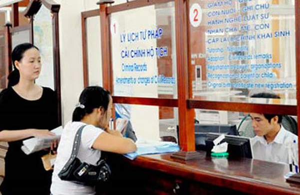 Thủ tục đăng ký lý lịch tư pháp