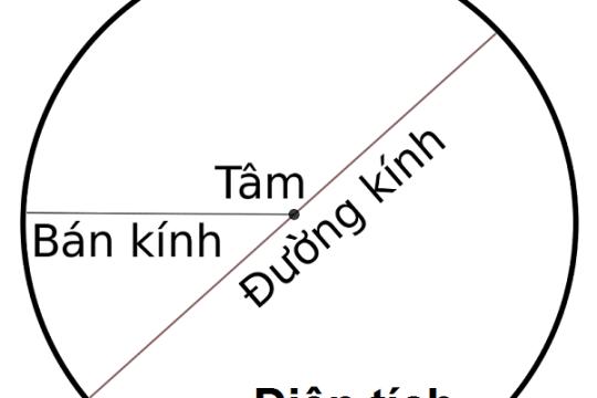 Cách tính chu vi hình tròn và các bài tập ví dụ về tính chu vi hình tròn
