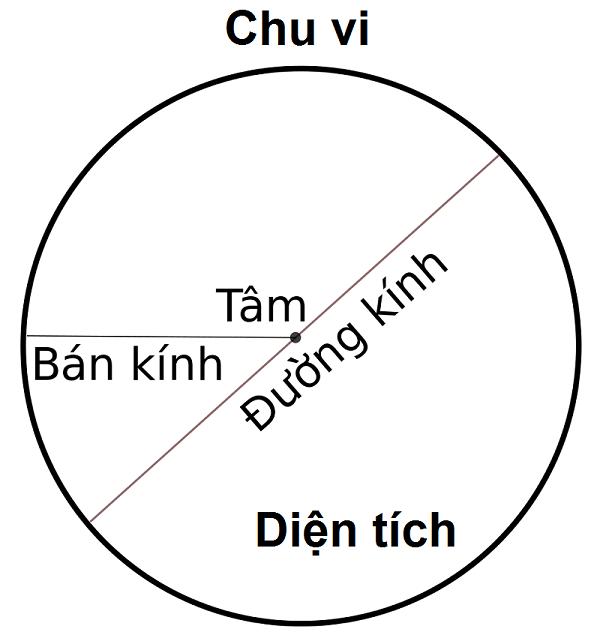 Tìm hiểu về các khái niệm liên quan đến hình tròn