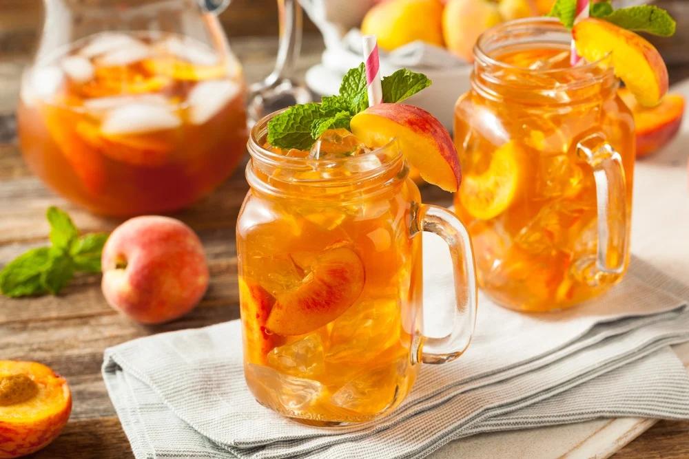 Trà đào cam sả - thức uống giải nhiệt cho ngày hè nóng bức