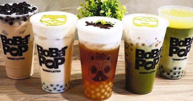 Trà sữa Ba Đình Bobapop