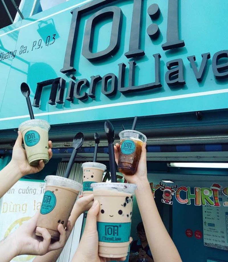 Trà sữa Microwave Milktea VN