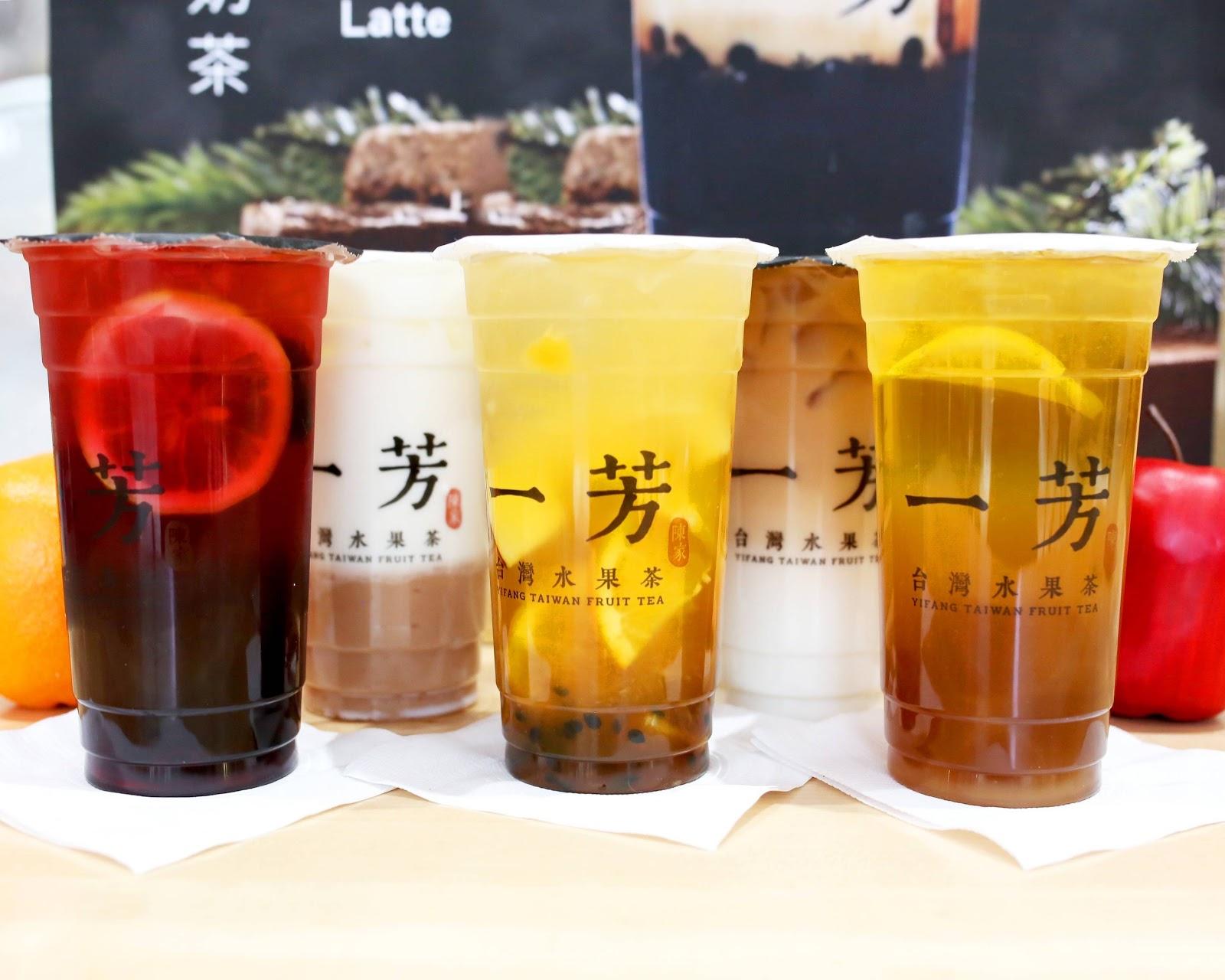 Trà sữa Yi Fang 2