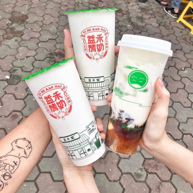 Trà sữa Yi He Tang 2